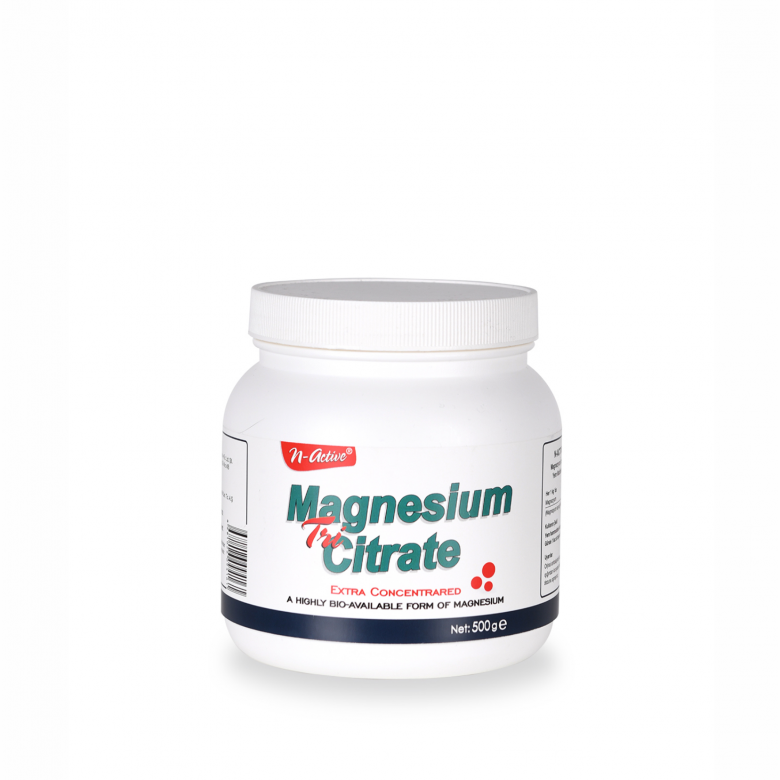 N-ACTIVE MAGNESIUM CITRATE
